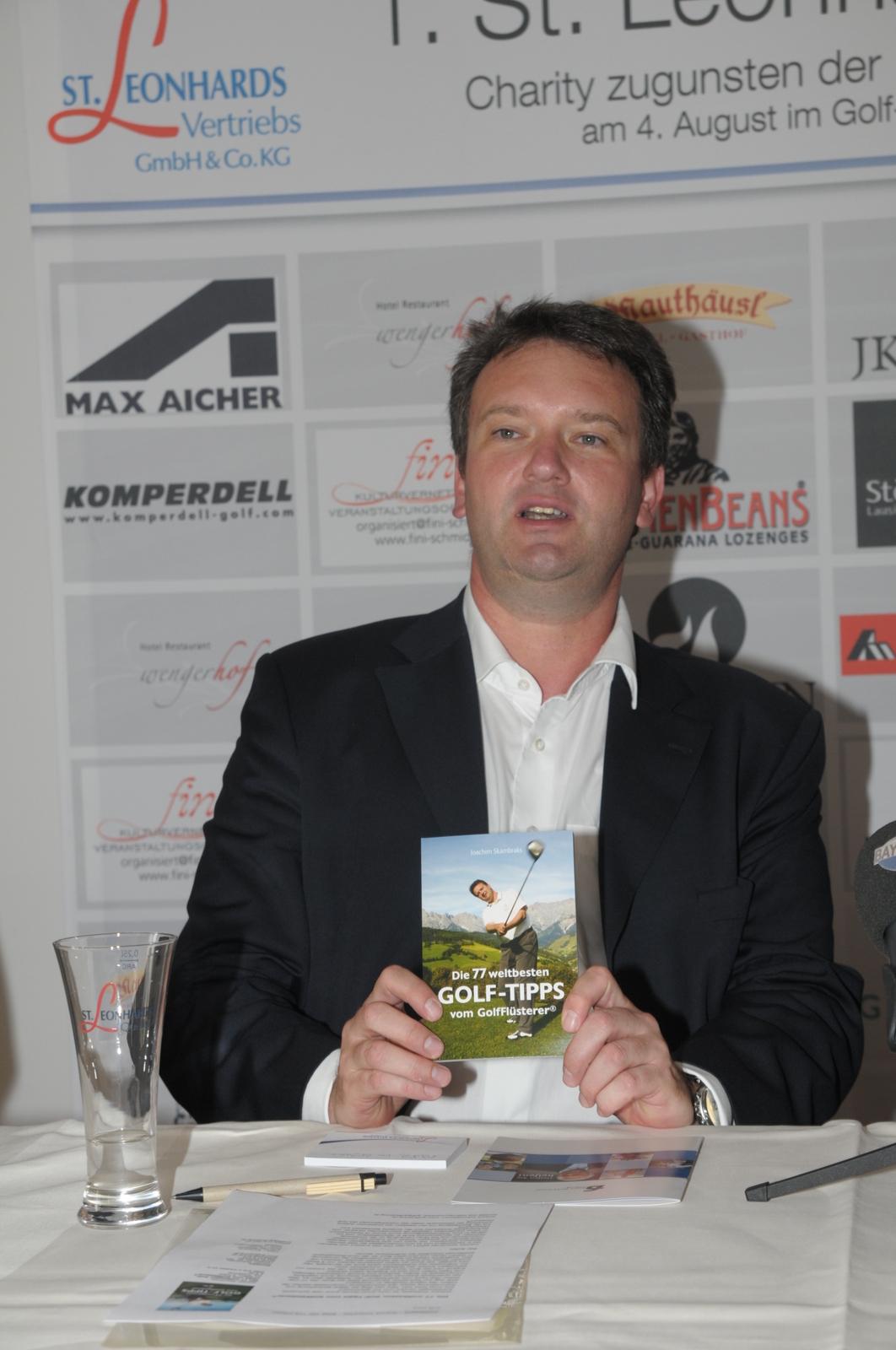 GolfFlüsterer Joachim Skambraks